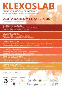 Cartel actividades KlexosLab